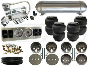 """Universal Air Suspension Kit - Coil Spring Vehicles - LEVEL 1 1/4"""""""