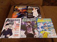Animerica Magazine Lot of 5 Vol 7 #2 #3 #4 #9 #11 *Read Description*
