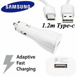 Genuine Samsung Adaptive Fast rapid car charger for Samsung Galaxy S8 / S8 plus