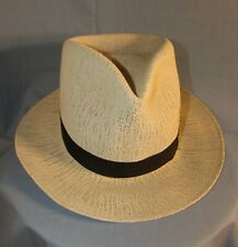 1940-s,50's AIREX LIGHTWEIGHT SUMMER HAT, HANOKI STRAW