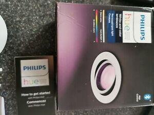 PHILIPS HUE White & Colour Ambience Bluetooth LED Bulb - GU10