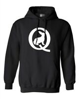 Q Symbol Bunny Calm Before The Storm Qanon DT Sweatshirt Hoodie