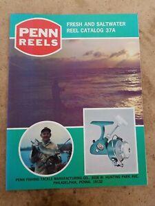 Vintage Penn Reels Reel 37A Catalog Copyright 1975