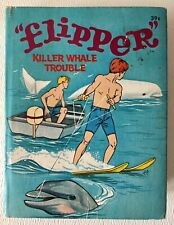 Vintage Flipper: Killer Whale Trouble – 1967 Whitman A Big Little Book #3
