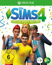 Die Sims 4 - Deluxe Party Edition (Microsoft Xbox One, 2017)