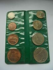 Ireland, 1966 Uncirc. Set in Green Case, Excellent Condition.