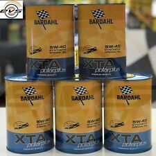 5 Litri BARDAHL XTA 5W40 Polarplus ACEA A3 B4 Olio Motore Auto SYNT Fuel Economy