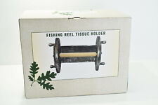 Cracker Barrel Exclusive Fishing Reel Wall Mounted Toilet Paper Holder