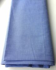 CHAMBRAY Lightweight 100% COTTON Fabric * Denim Look * By the Metre