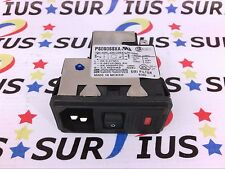 USSP PS0S0SSXA C1100 Corcom AC Power Entry Module Snap In Switch TE Connectivity