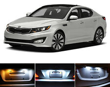Xenon White License Plate / Tag 168 194 LED light bulb for Kia Optima 2Pcs