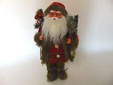 GRANDE Decorazione Babbo Natale stoffkleidung circa 47cm 17850