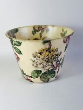 Vintage Fibreglass Bin Planter Plant Pot Holder Floral