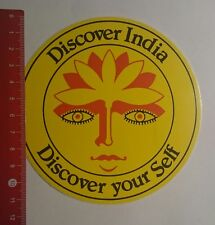 Aufkleber/Sticker: Discover India discover your self (18011771)