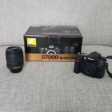 NIKON D7000 DSLR Camera with 18-105mm AF-S Lens - very low shutter count!