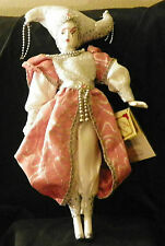 """Collector's Choice bisque porclelain doll 19"""" tall"""