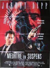 MEURTRE EN SUSPENS Nick of Time Affiche Cinéma / Movie Poster JOHNNY DEPP