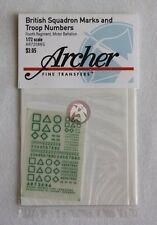 Archer 1/72 British Squadron Signs 4th Regiment Motor Battalion (Green) AR72086G