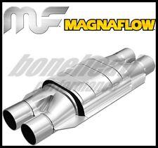 MagnaFlow Conv Univ 2in Inlet/Outlet Dual/Dual CA Pre-OBDII