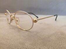 GIANFRANCO FERRE GFF OVAL Vintage Eyeglasses GFF255 Color White  Gold 49-20