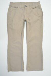RIDERS by Lee Size 12 PETITE Women TAN Bootcut Leg MID Rise STRETCH Jeans Pants