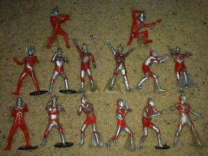 "Ultraman Figure Lot Seven Taro Ace Jack Belial Zoffy 5"" Stand Bandai"