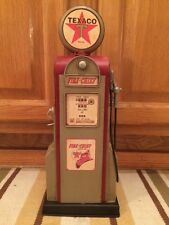 Texaco Gas Pump Decor Mini Metal Vintage Look Man Cave Gas Station Route 66