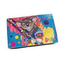 VTG Lisa Frank Koala Bear Rainbow Cardboard Pencil Box Made In USA 1990 - Rare!
