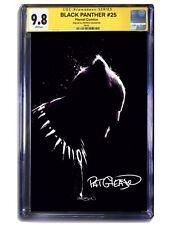 SIGNED Black Panther #25 Fine Art VIRGIN Gleason - CGC 9.8 SS *PRE-ORDER*