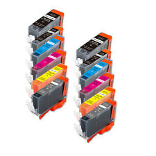 12 PK Printer Ink Set + chip fits Canon PGI-225 CLI-226 MG6120 MG6220 MG8120