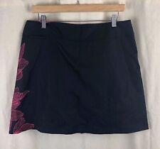 Adidas Black & Hot Pink ClimaCool Athletic Skort Skirt Size 10