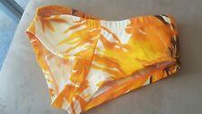 Orange themed bikini bottom xs