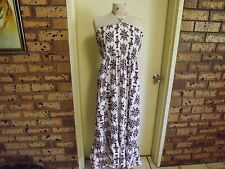 Autograph Shirred Halter Maxi Dress sz 14