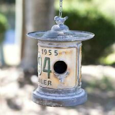 Rustic Metal Bird House Metal Birdhouse