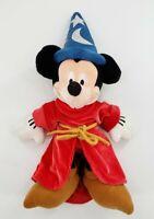 "Walt Disney World Plush Mickey Mouse Wizard Doll 14"""