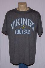 Minnesota Vikings Football T-Shirt Charcoal XL