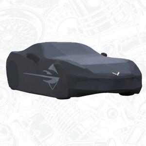 2014-2019 C7 Corvette Stingray BLACK  All Weather Car Cover GENUINE GM 23142884