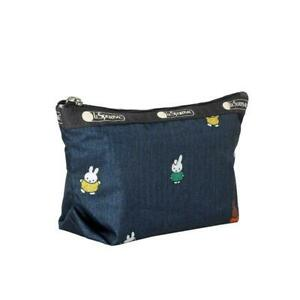 LeSportsac Dick Bruna Small Sloan Cosmetic in Miffy and Friends NWT Final