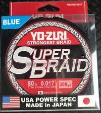 YO-ZURI SUPER BRAID 80lb 300yds 8ply