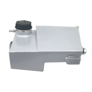 Aluminium Coolant Expansion Overflow Tank For Focus ST 2013-2018 RS 16-18 Silver