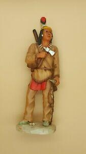 Castagna Indianer Figur - Vitrinenstück