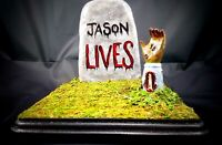Friday The 13th Jason Voorhees - Handmade Horror Art Plaque Halloween Decor