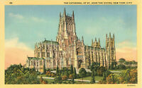 Postcard The Cathedral Of St. John The Devine, New York City, NY