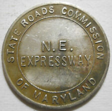 Maryland State Roads Commission - N.E. Expressway transit token - MD670Aa