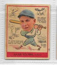 "1938 Goudey - Julius ""Moose"" Solters - Indians - #279"
