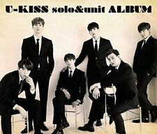 U-KISS-SOLO & UNIT ALBUM-JAPAN CD+DVD K81