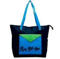Disney TAG Travel Mickey Mouse Gear Large Tote Zipper closure Navy Blue Access +