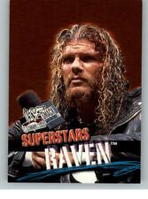 2001 Fleer WWE Wrestlemania #5 Raven
