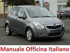 OPEL AGILA B  (2008/2015) Manuale Officina Riparazione ITALIANO