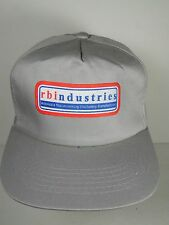 Vtg 1990s RBI INDUSTRIES Woodworking Machinery Manufacturer ADVERTISING HAT CAP